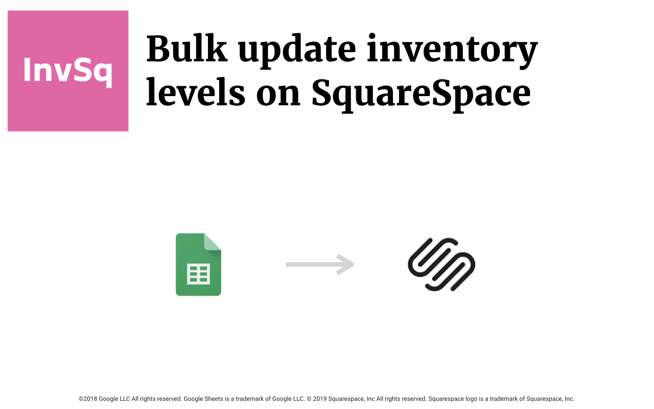 InventorySquare plugin for Squarespace